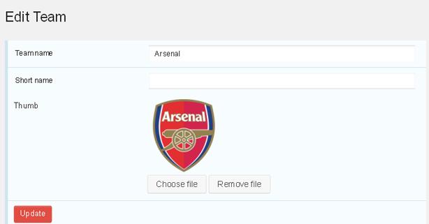 Plugin de WordPress para motor de fútbol